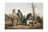 Slave Market at Kenneh, Egypt, 1857 Giclee Print by Louis Montegut