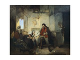 The Return of the Wounded Soldier, 1854 Giclee Print by Gerolamo Induno