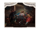 Supper at Emmaus, 1765 Giclee Print by Nicola Pisano