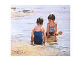 Playmates Giclee Print by Paul Gribble
