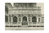 The Loggia of the Bell Tower in Venice, 1886, Italy Giclee Print by Jacques Callot