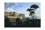The Royal Palace of Naples Seen from Saint Lucia, 1809-1814 Giclee Print by Alexej Von Jawlensky