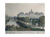 The Palace of the Prince Electors in Poppelsdorf, Near Bonn, 1790 Giclee Print by Johannes Vorsterman