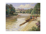 The Rowing Team Giclee Print by Paul Gribble
