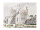 Tewkesbury Church, Gloucestershire Giclee Print by Myles Birket Foster