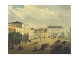 View of Warsaw Giclee Print by K Zajicek