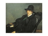 Portrait of Andre Gide, 1912 Giclee Print by Jacques-emile Blanche
