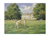 Croquet Giclee Print by Paul Gribble