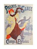 Palais De Glace - Champs Elysees Gicleetryck av Jules Pascin