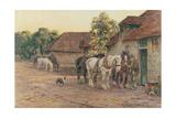 Evening Giclee Print by J. M. W. Turner