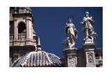 Facade of Cathedral of Santa Maria, Murcia, Spain Giclee Print by James Cook