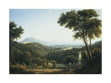 View of Naples from Capodimonte, 1813 Giclee Print by Alexej Von Jawlensky