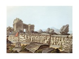 The Ruins of Ephesus in Turkey, 1804 Giclee Print by Luigi Mayer