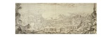 View of Naples, 1582, Italy Giclee Print by Jan Vermeer