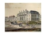 The Adapted Godesberg in Bonn, Detail, 1790 Giclee Print by Johannes Lingelbach