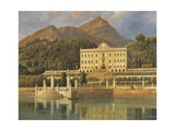 Italy, Tremezzo, on Lake Como, Villa Carlotta in 1819 Giclee Print by Jan Matejko