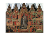 Altarpiece of Saint Quiteria, 1332 Giclee Print by Joan Or Juan Mates