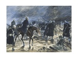 The British Entering Bloemfontein, 1900 Giclee Print by Frank Topham