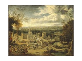 View of London and its Surroundings Giclee Print by John Gubbins