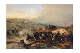 Capture of the Tower of Malakoff, 1855 Giclee Print by Gerolamo Induno