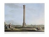 Egypt, Alexandria, Pompey's Pillar, 1804 Giclee Print by Luigi Mayer