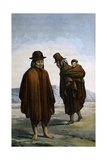 Plain Indians of Bogota Giclee Print by Paul Merwart