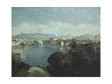 Saint-Jean-Sur Geneve, Switzerland Giclee Print by Alexandre Francois Desportes