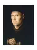 Portrait of Jan De Leeuw, 1390-1441 Giclee Print by Jan van Huysum