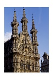 City Hall in Brabantine Gothic Style, 1448-1469 Giclee Print by Mattia Bortoloni