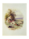 The Young Shepherd Giclee Print by Myles Birket Foster