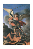 St Michael the Archangel, 1644 Giclee Print by  Guercino