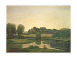 The Pond, 1853 Giclee Print by Henry Bright