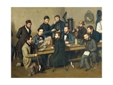 Political Meeting in Trier, 1848 Giclee Print by Johann Ziegler