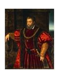 Portrait of Alfonso D'Este Giclee Print by Duccio Di buoninsegna