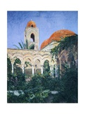 Cloister of the Hermits in Palermo Giclee Print by Samuel de Champlain