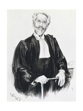 Portrait of Edouard Clunet, Mata Hari's Defense Attorney Giclee Print by Henri-Joseph Harpignies