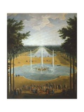 The Gardens of Versailles, France 17th Century Giclee Print by Jean Baptiste Martin