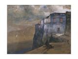 Torquato Tasso's House in Sorrento Giclee Print by Giacinto Gigante