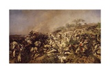 The Battle of Dogali Giclee Print by Michele Cammarano