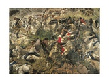 The Battle of Dogali, Detail Giclee Print by Michele Cammarano
