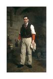 Portrait of Cesare Fantelli Giclee Print by Elisabeth Louise Vigee-LeBrun