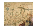 Map of Tartary, 1540 and Francesco Grisellini, 1761 Giclee Print by Gian Lorenzo Bernini