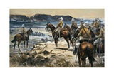 Roberts Attending the Boers Surrender to Paardersberg, 1900 Giclee Print by Frank Feller