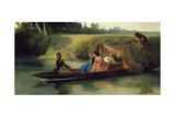 Romance on the Ticino, 1859 Giclee Print by Federico Rossano