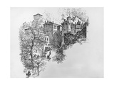 The Castle of Fratta Giclee Print by Isaac Sailmaker