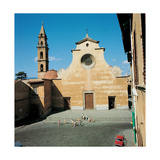 Church of Santo Spirito in Florence, 1471 Giclée-tryk af Filippo Brunelleschi