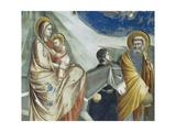 The Flight into Egypt, Detail from Life and Passion of Christ, 1303-1305 Giclee Print by  Giotto