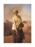 Ruth, 1853 Giclee Print by Francesco Hayez