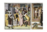 France, La Brigue, Notre-Dame Des Fontaines Chapel, Crowning with Thorns, 1491 Giclee Print by Giovanni Canavesio