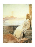 Monk at San Martino Giclee Print by Giacinto Gigante